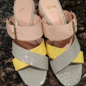 J crew shoes size 8 and 1/2
